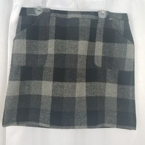 Liz Claiborne Plaid Skirt Size 12